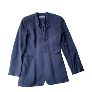 Emporio Armani Navy Blue Business Blazer